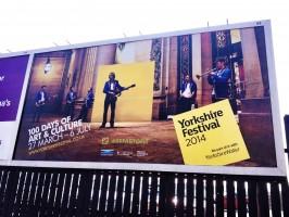 Our billboard on Kirkstall Road