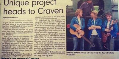 Craven Herald Piece